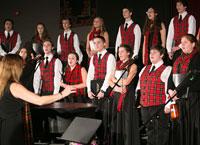 BCF Awards $5,250 Grant to Branford High School Choral Program