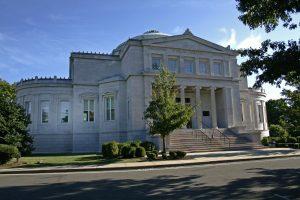 James Blackstone Memorial Library in Branford, CT