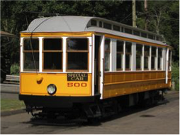 BCF was also able to donate to the Shore Line Trolley Museum.