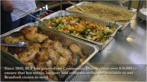 BCF provides hot meals for the needy.