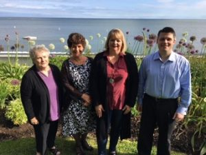 We're thrilled to introduce you to the four newly-elected officers of the Branford Community Foundation (BCF) Board of Directors, who began their terms this July.