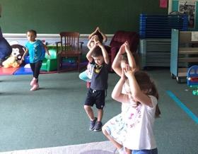 Dance class is fun!